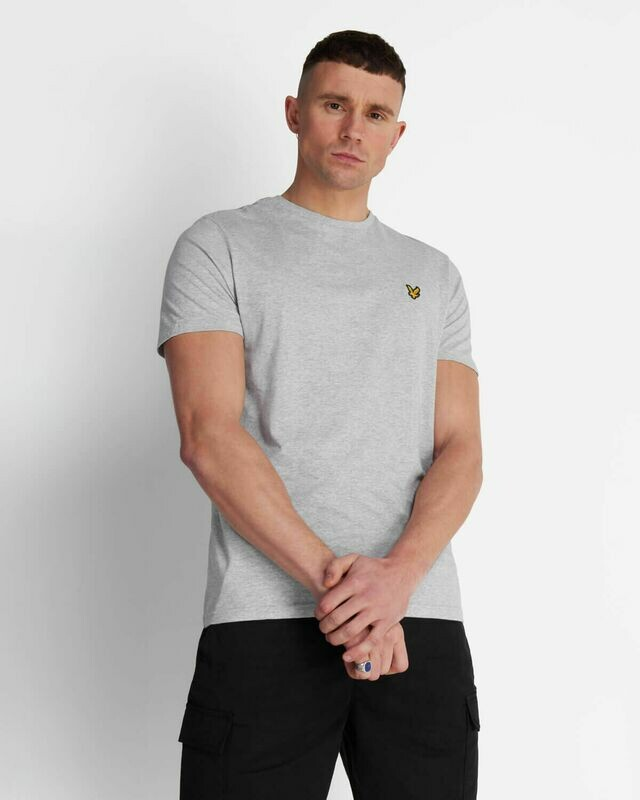Lyle & Scott | Crew Neck T-Shirt - Light Grey Marl