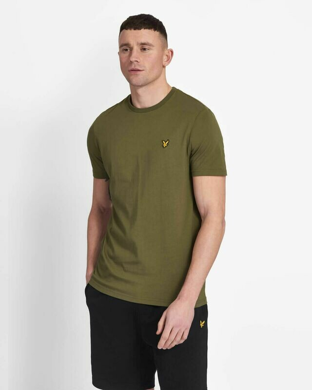 Lyle & Scott | Crew Neck T-Shirt - Lichen Green