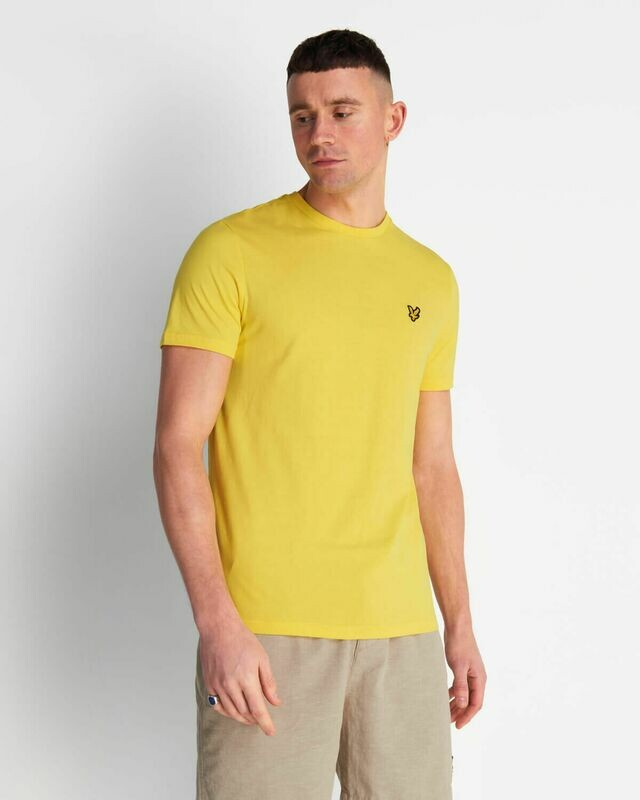 Lyle & Scott | Crew Neck T-Shirt - Buttercup Yellow