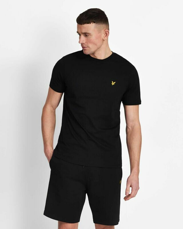 Lyle & Scott | Crew Neck T-Shirt - True Black