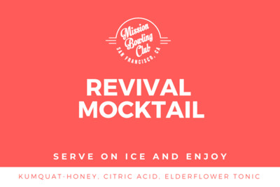 Revival, Non-Alcoholic (Single Mocktail)