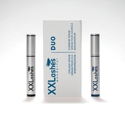 XXLashes まつげ美容液と眉毛美容液のセット(各3ml)