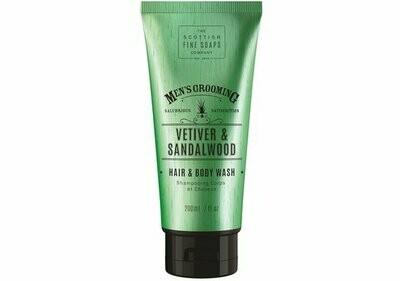 Vetiver & Sandelwood Hair & Body Wash   200 ml