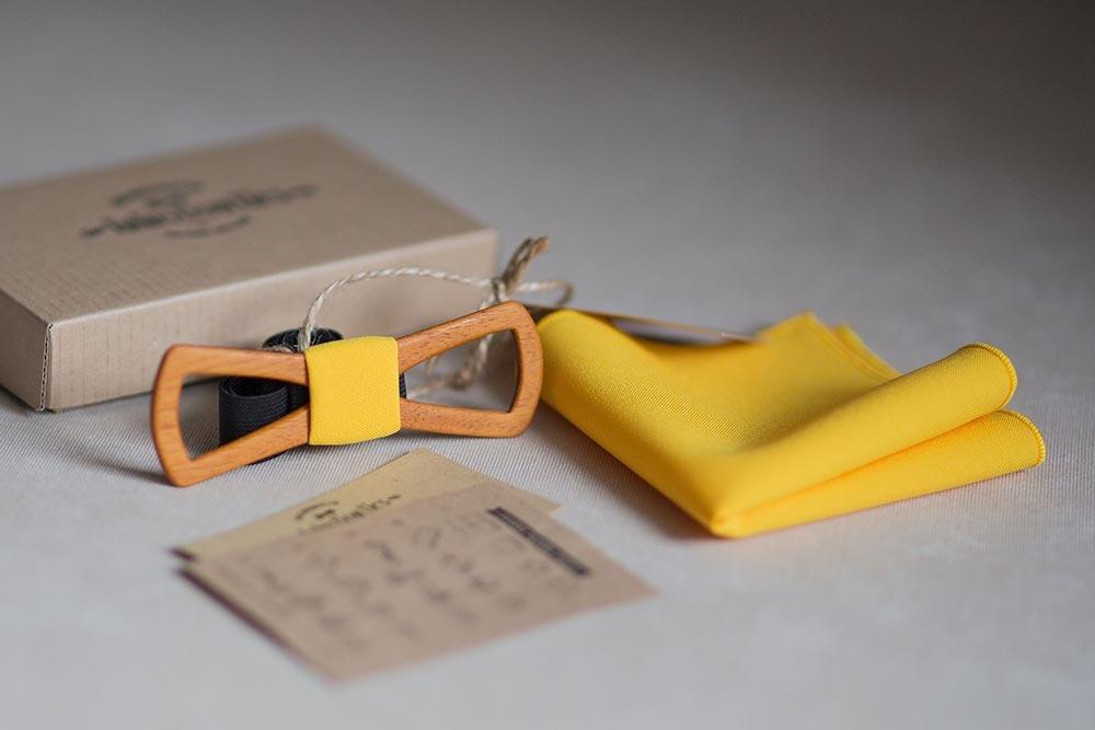 Купиь желтую галстук-бабочку
