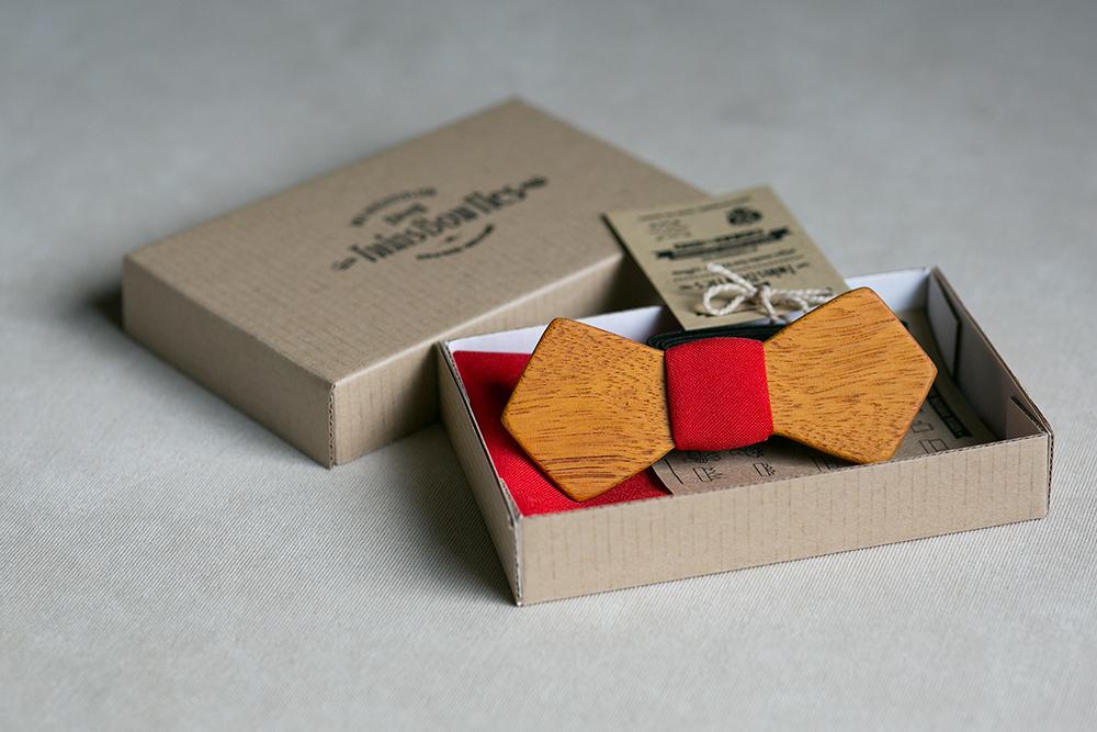 Купить красную галстук бабочку