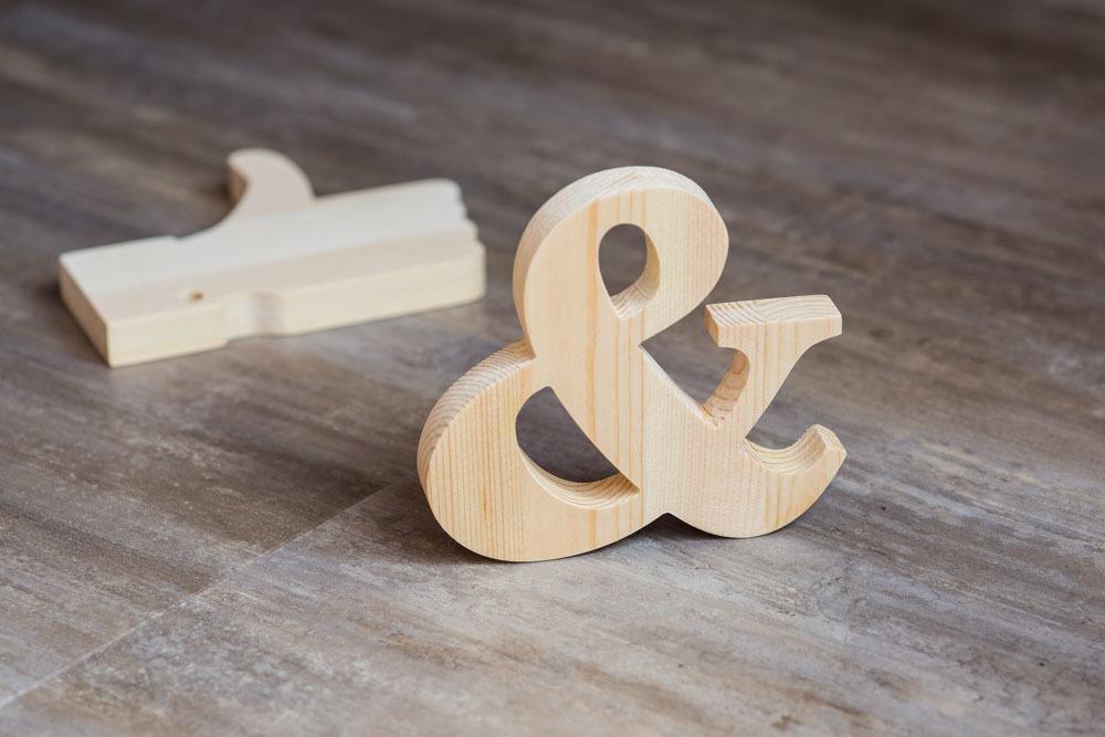 Буквы из массива сосны