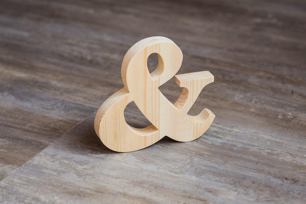 Буквы из дерева Екатеринбург