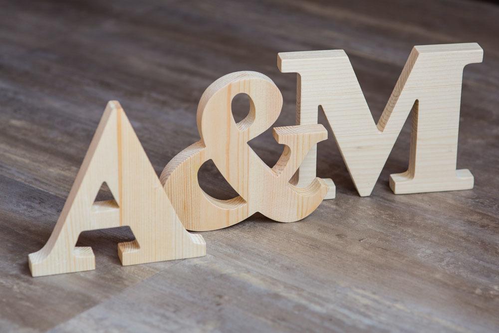 Лучшие деревянные буквы
