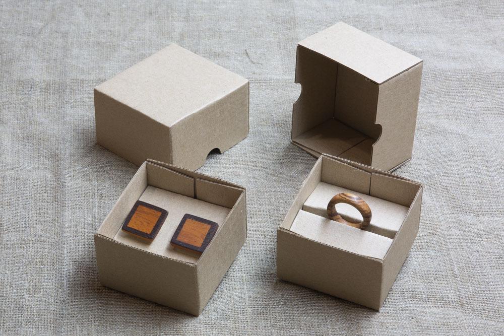Коробка для серег из картона купить