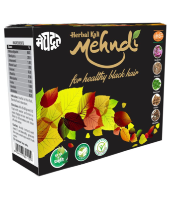 Herbal Black Hair Dye - Kali Mehandi