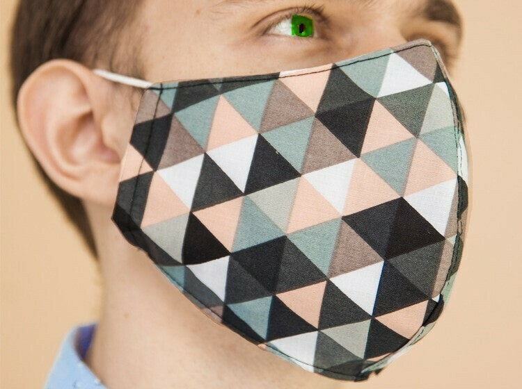 Designer Cloth Face Mask - N95 Design