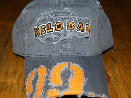 Kelobar Schildkappe orange/grau 00031
