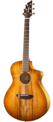 Breedlove Pursuit Exotic Concert Prairie Burst CE Myrtlewood - Myrtlewood