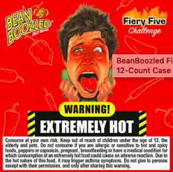 Bean Boozled Fiery Five Spin Box