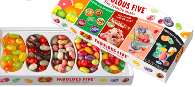 Jelly Belly - Fabulous Five Gift Box