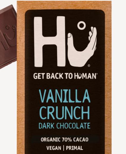 Hu - Bar, Vanilla Quinoa Qrispy