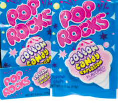 Pop Rocks - Cotton Candy