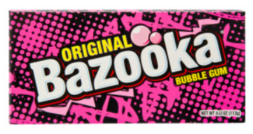 Bazooka Bubble Gum Theater