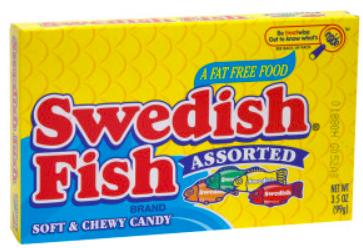 Swedish Fish - Assorted Theater