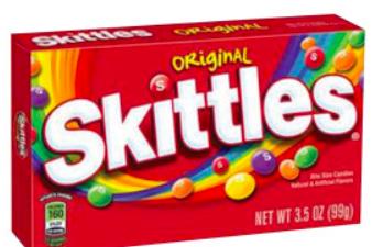 Skittles Theater Box