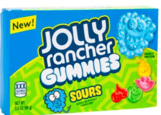 Jolly Rancher Gummies Sours Theater