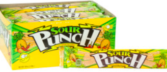 Sour Punch Straws - Pineapple Mango Chile