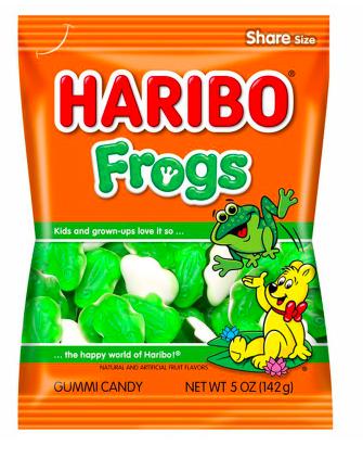 Haribo - Frogs