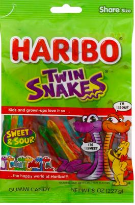 Haribo - Twin Snakes