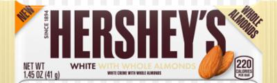 Hershey's - White Chocolate with Almonds