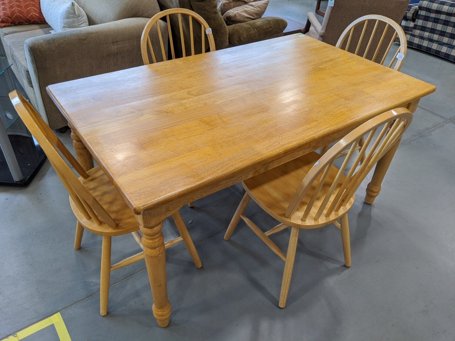 Dining Room Set with Table and 4 Chairs #1884