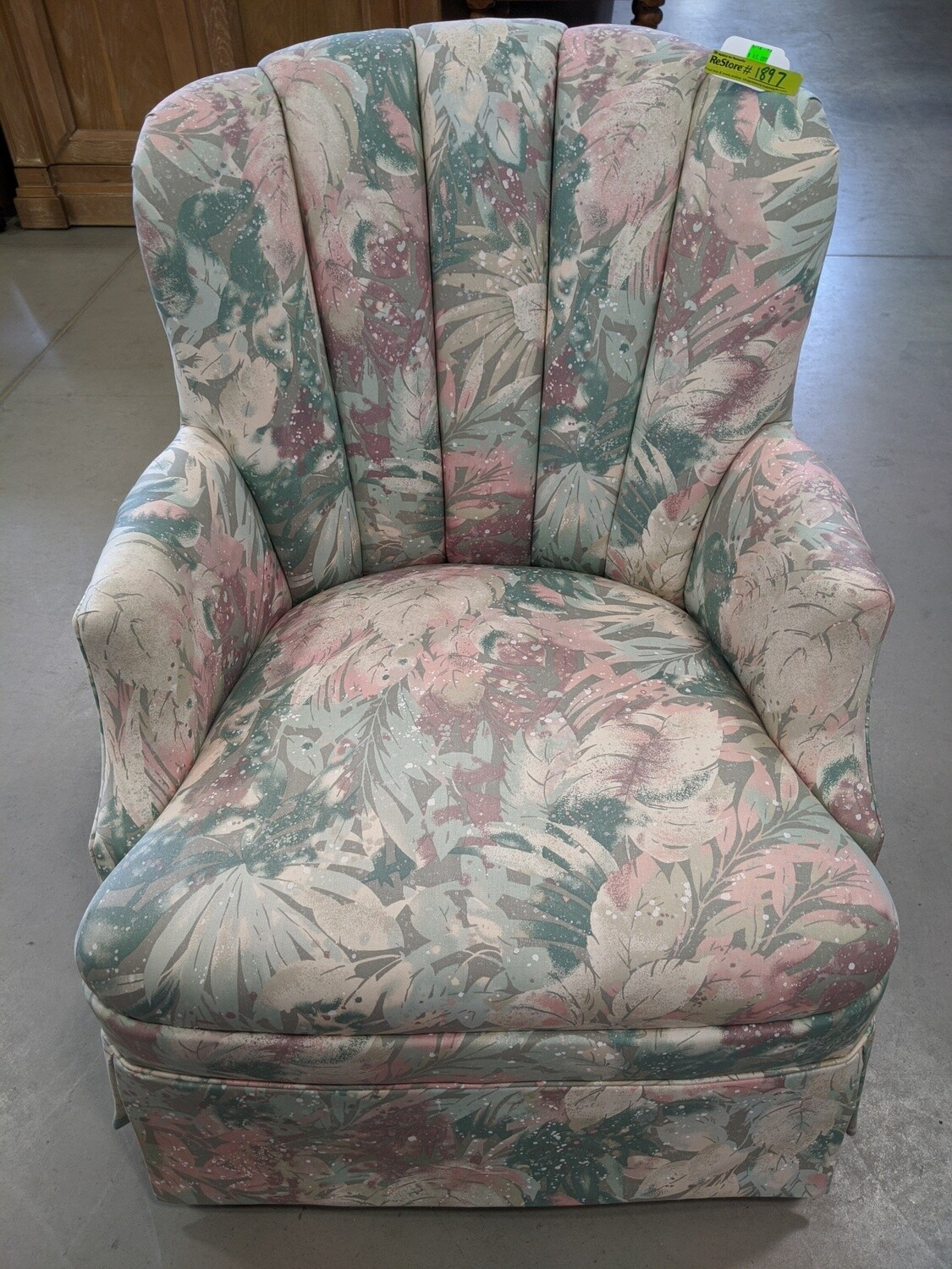 Floral Accent Chair #1897