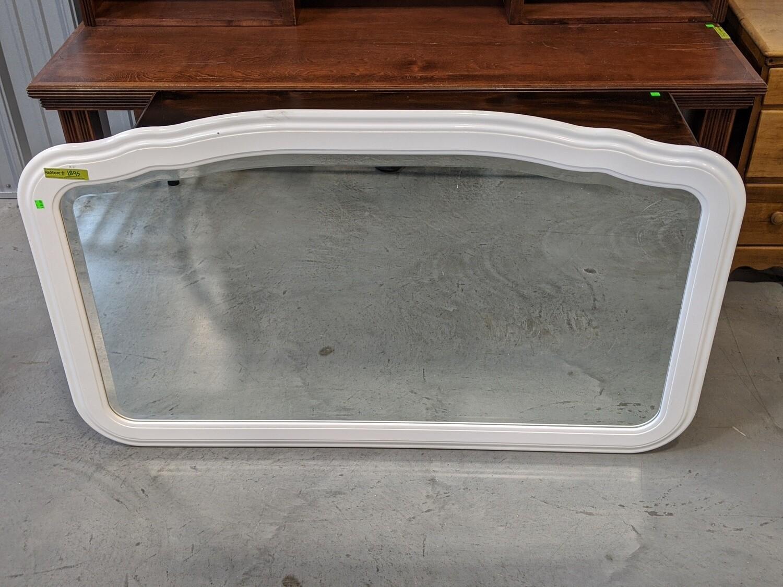 White Frame Mirror #1895