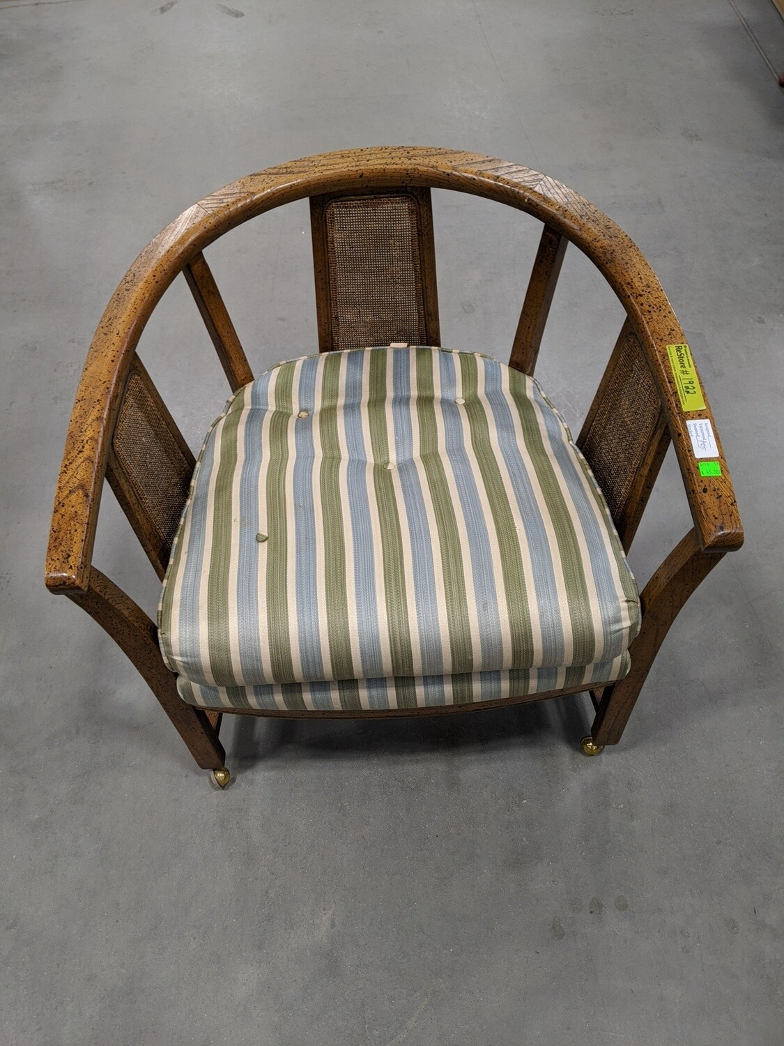 Accent Chair with Casters #1922