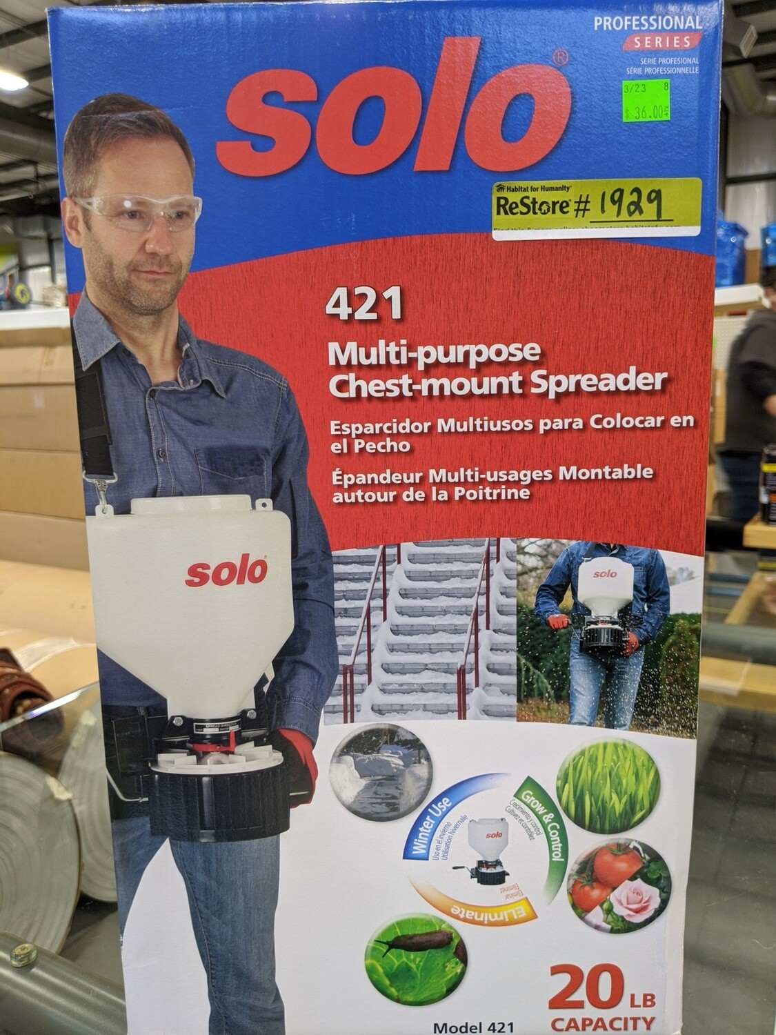 Solo Multipurpose Chest Mount Spreader #1929