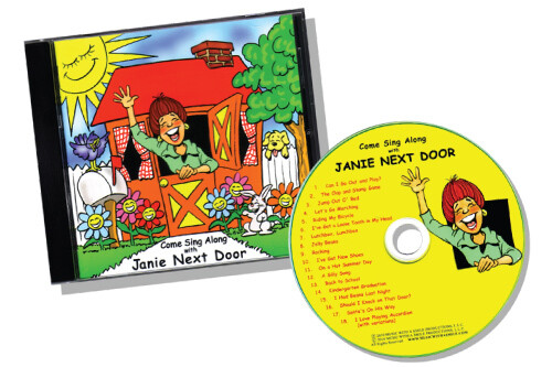 DIGITAL DOWNLOAD of the Come Sing Along with Janie Next Door™ CD