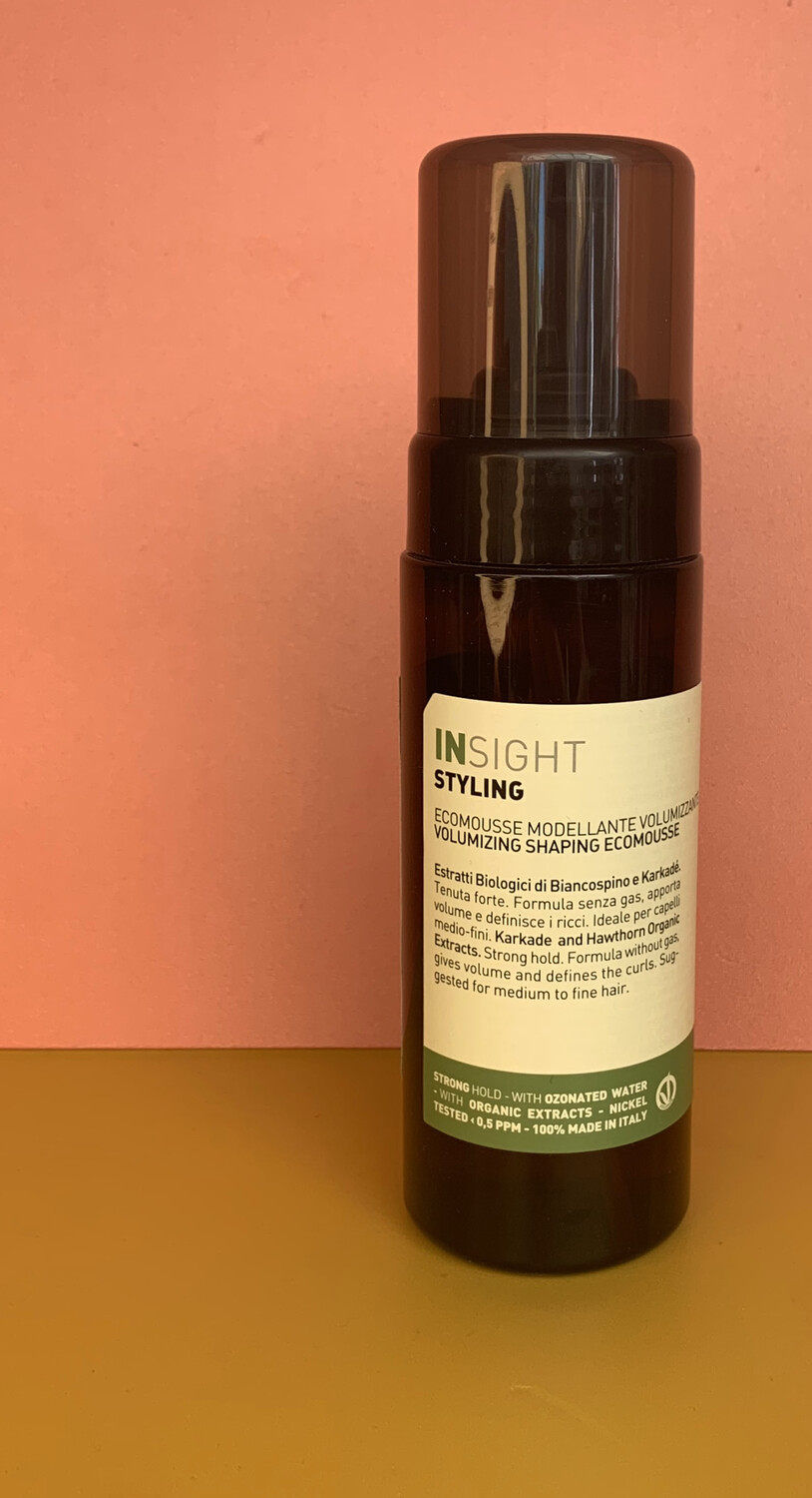 Insights Volumising Shaping Eco Mousse
