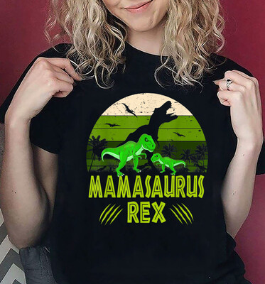 T-Rex Mamasaurus Vintage Mother Day Gift T-Shirt