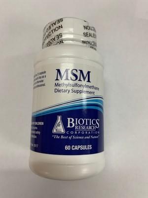 MSM  capsules 60 ct