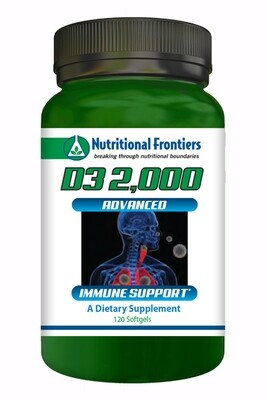 D3 2000 IU  softgels 120 count