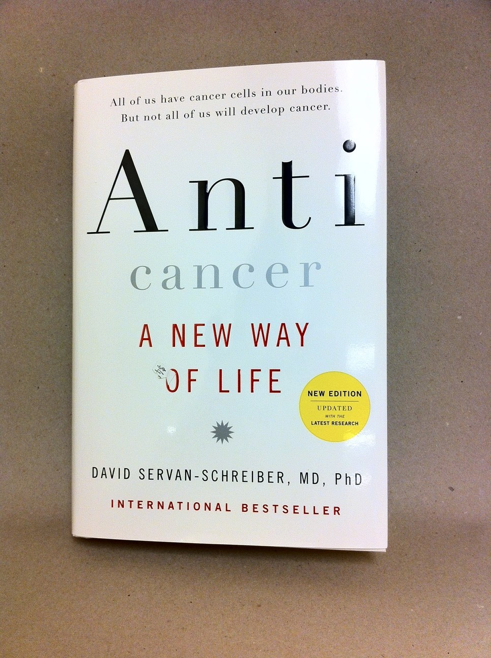 Anti Cancer A New Way of Life 1480