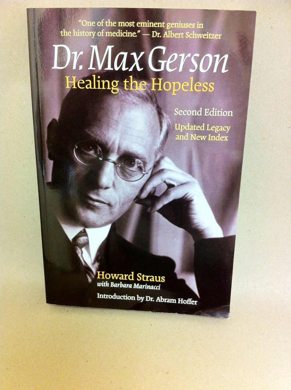 Dr. Max Gerson  Healing the Hopeless 1086
