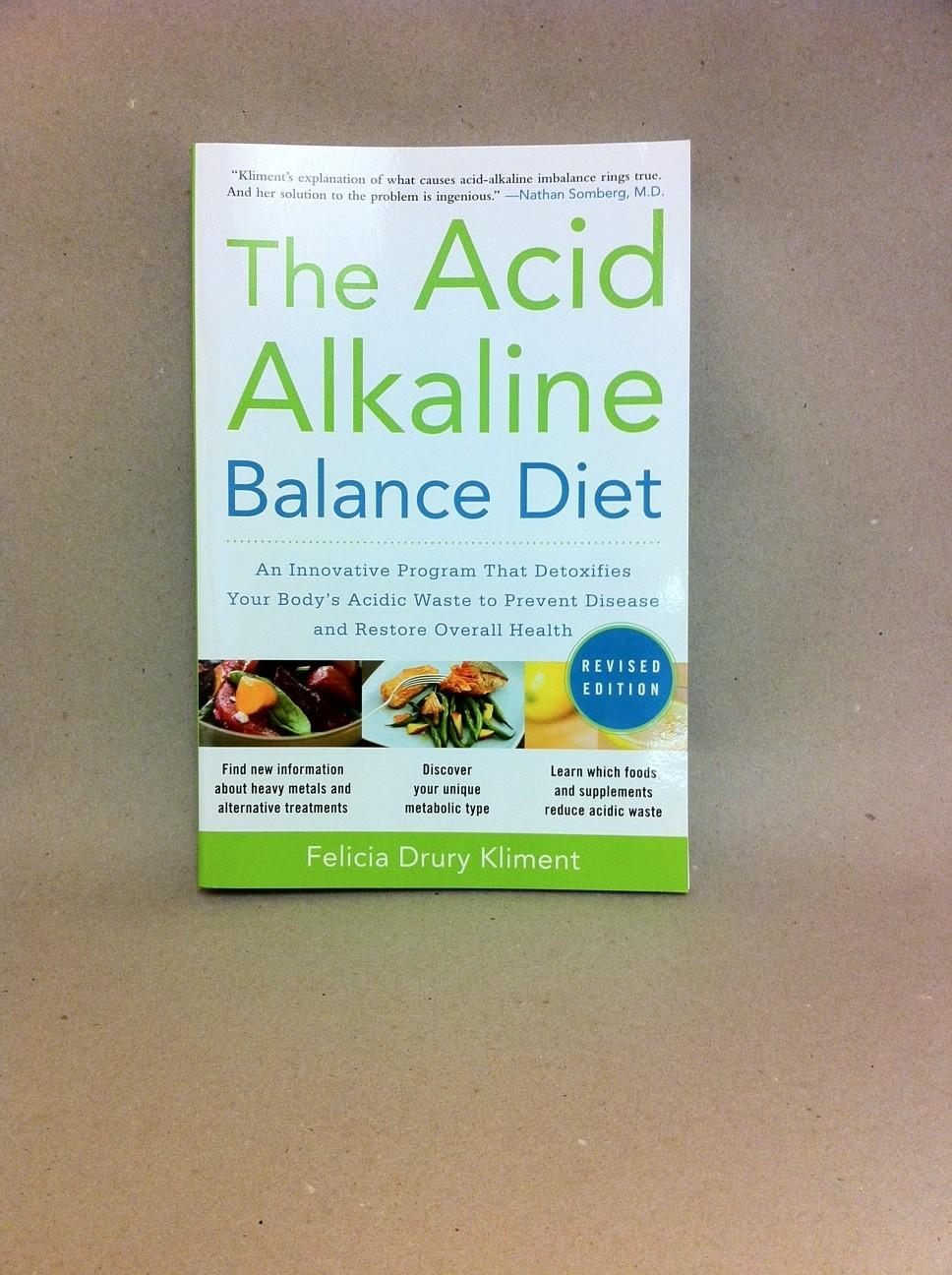 The Acid-Alkaline Balance Diet 1949