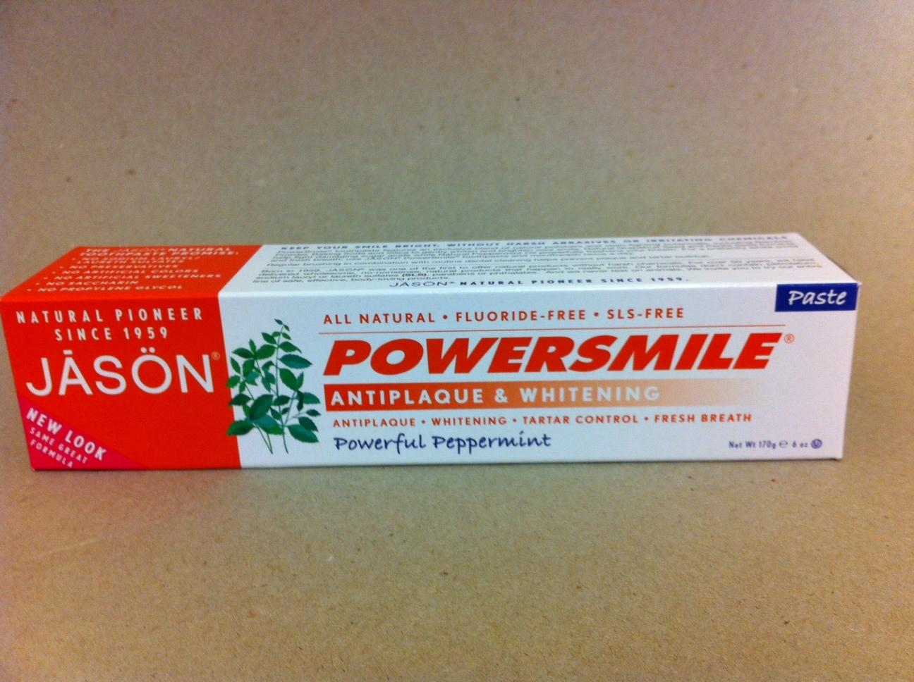 Jason Powerful Peppermint Toothpaste 1496