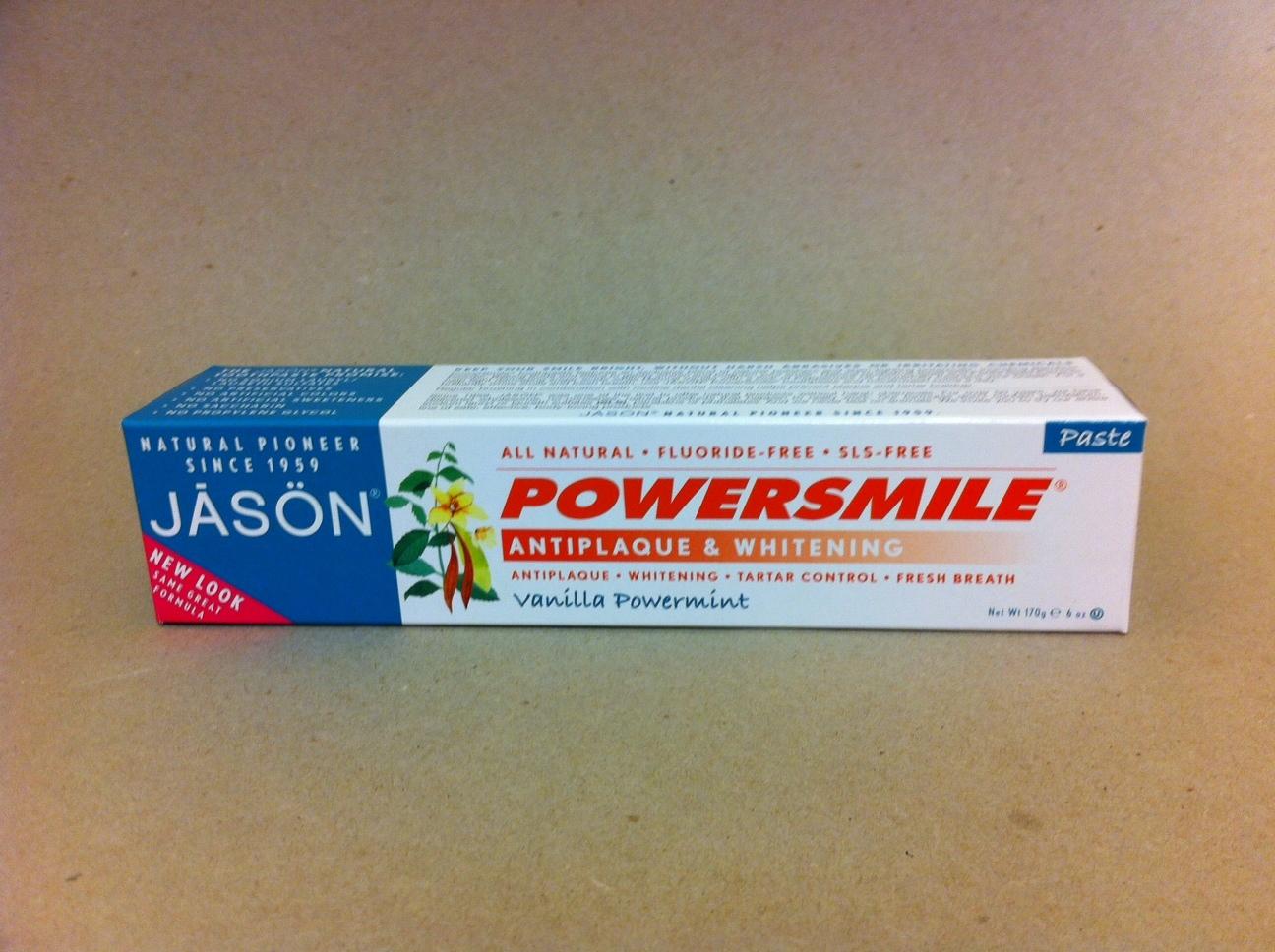 Jason Vanilla PowerMint Toothpaste 1497