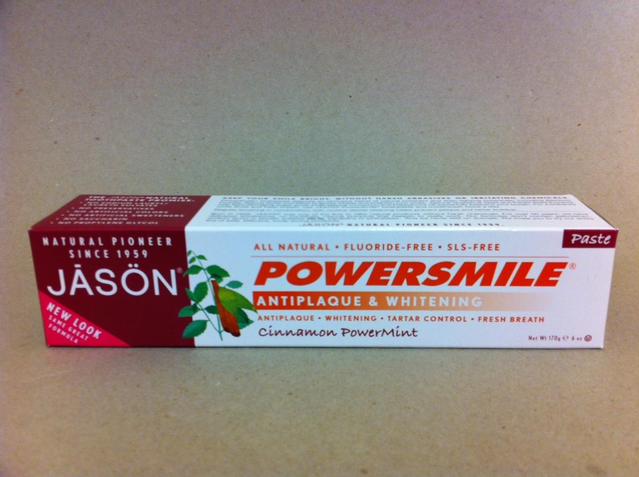 Jason Cinnamon PowerMint Toothpaste 1495