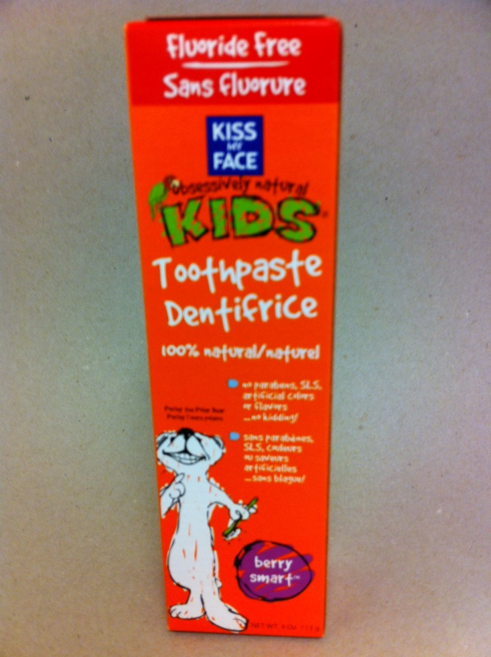 Natural Kid's Toothpaste 843