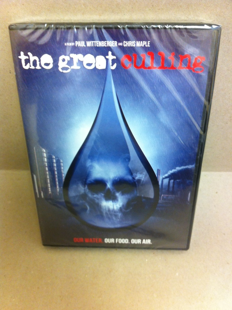 The Great Culling -- Our Water  Our Food  Our Air  DVD 2374