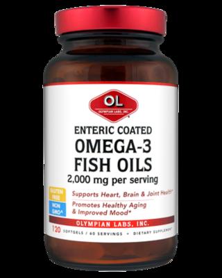 Omega 3 Fish oil - Enteric Coated