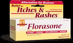 Florasone  Itches & Rashes