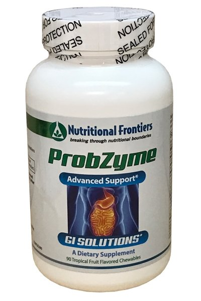 Probzyme  New Formula,  New Tropical Fruit Taste